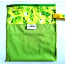 Detkko pelenkazsák zöld 21cm x 25cm