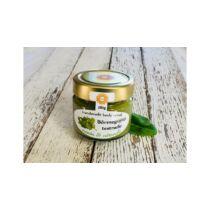 Napvirágszappan Bőrradír Menta-citromfű, parajdi sóval, szőlőmag-, mandula- és olíva olajjal 280g