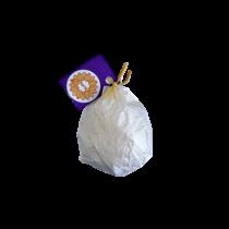 Fürdőgolyó levendula illóolajjal, shea vajjal és szárított levendulavirággal 90g