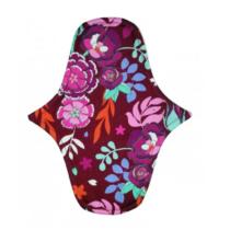 Emilla penelopé közepes szélesített betét Bordeaux floral 25 cm