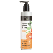 Organic shop active tusfürdő grapefruit punch 280 ml