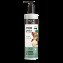 Organic shop wellness tusfürdő kenyai makadámdió 280 ml