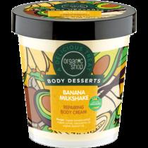 Organic shop regeneráló testápoló banán shake 450 ml