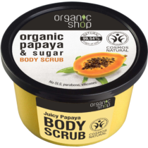 Organic Shop Papaya és Sugar cukros testradír 250 ml