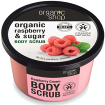 Organic shop cukros testradír málnakrém 250 ml