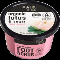 Organic shop cukros lábradír édes lótuszvirág 250 ml