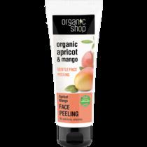 Organic shop gyengéd arcpeeling Barackos mangó 75 ml
