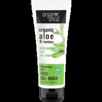 Organic shop hidratáló gél arcmaszk madagaszkári aloe 75 ml