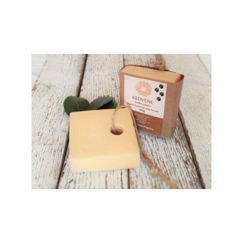 Napvirágszappan KEDVENC – Natúr szappan, állatoknak organikus neem olajjal 100g