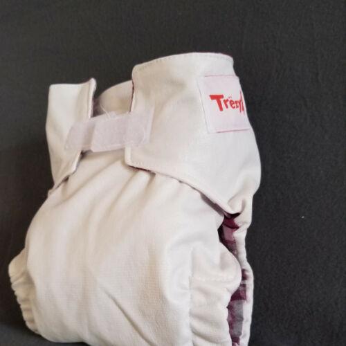 FEHÉR Trezy zsebes pelenka extra pamut betéttel 15 kg-tól