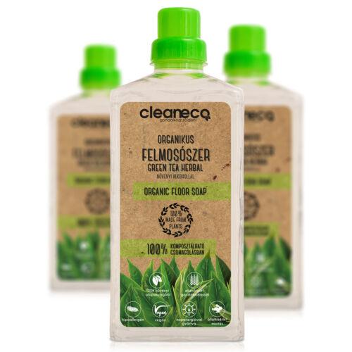 Cleaneco Organikus Felmosószer 1 liter Zöld Tea Herbal
