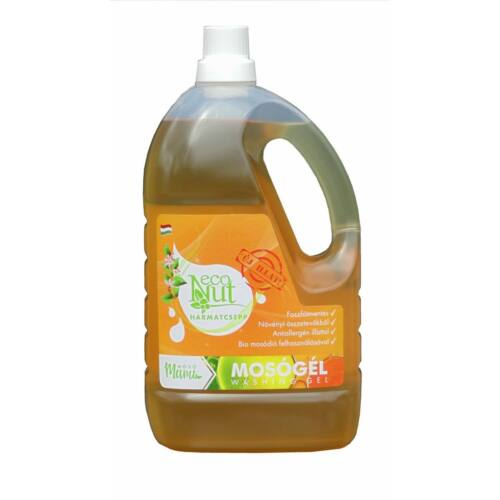 EcoNut mosódiós mosógél - Harmatcsepp 3000 ml