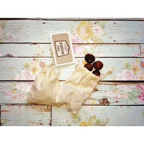 Indiai mosódió héj - próbacsomag vászontasakkal
