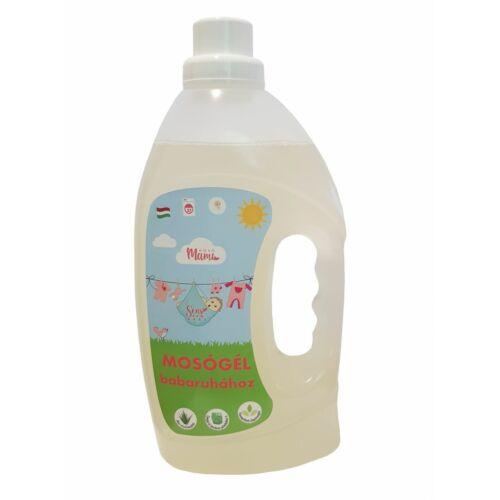 SensEco Baby mosógél babaruhához - Lányos címkével 1500ml